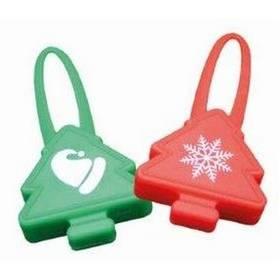 Nobby Starlight Christmas blikající přívěšek červená barva