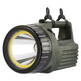 EMOS 10W LED+COB (1433010070) čierna/zelená