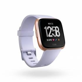 Fitbit Versa (NFC) - Rose Gold / Periwinkle (FB505RGABLV-EU)