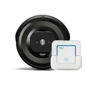iRobot Roomba e5 + iRobot Braava jet 240 černý