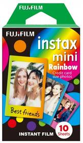 Fujifilm Instax Mini Rainbow 10ks