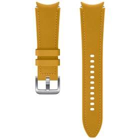 Samsung Galaxy Watch4 Classic 46mm, hybridní kožený (20 mm, M/L) (ET-SHR89LYEGEU) hnedý