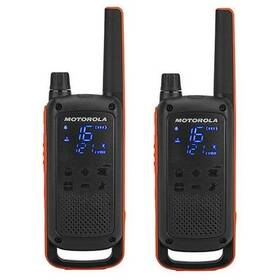 Motorola TLKR T82 (B8P00811EDRMAW) černý/oranžový