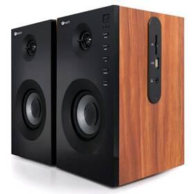 C-Tech SPK-550BT, 2.0, Bluetooth (SPK-550BT) dřevo