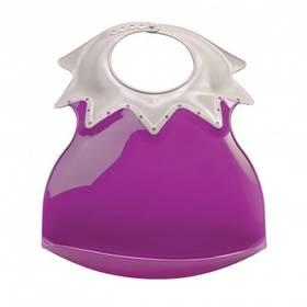 Thermobaby plastový s límcem fialový