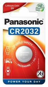 Baterie lithiová Panasonic CR2032, blistr 1ks