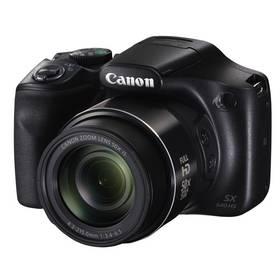Canon PowerShot SX540 HS černý Paměťová karta Kingston MicroSDHC 16GB UHS-I U1 (45R/10W) + adapter (zdarma) + Doprava zdarma