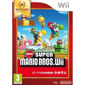 Wii New Super Mario Bros