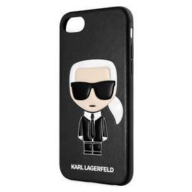 Karl Lagerfeld Full Body Iconic na Apple iPhone 8/SE (2020) (KLHCI8IKPUBK) čierny