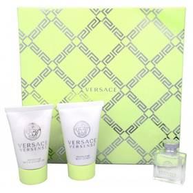 Versace Versense EdT 5 ml + sprchový gel 25 ml + tělové mléko 25 ml dárková sada