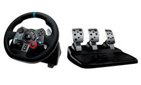 Logitech G29 Driving Force pro PS3, PS4, PC + pedály (941-000112) černý + Doprava zdarma