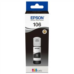 Epson EcoTank 106, 70 ml - foto černá (C13T00R140)