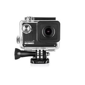 Lamax Action X7 Mira černá Selfie tyč MadMan PRO 112 cm (monopod) (zdarma)