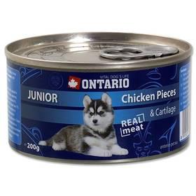 Ontario Junior kuřecí kousky a chrupavky 200g