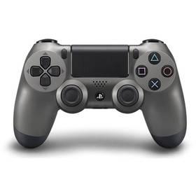 Sony Dual Shock 4 pro PS4 v2 - metalicky černá (PS719868262) + Doprava zdarma