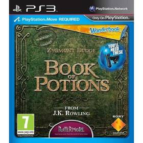 Sony PlayStation 3 MOVE Wonderbook: Book of Potions CZ (PS719264477)