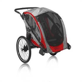 Dětský vozík za kolo Baby Jogger POD, červeno/černá + Doprava zdarma
