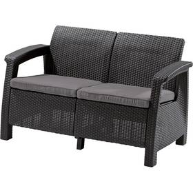 Allibert Corfu Love Seat antracit + Doprava zdarma