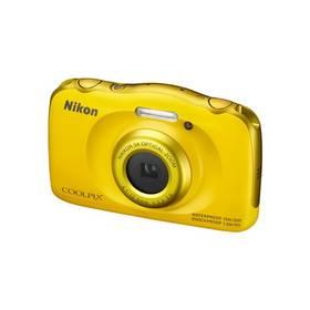 Nikon Coolpix S33 + dětský batoh ZDARMA žlutý