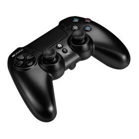 Canyon s touchpadem pro PS4, bezdrátový (CND-GPW5) čierny