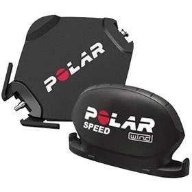 Snímač rychlosti Polar W.I.N.D. pro CS500 - černá + Doprava zdarma