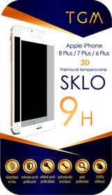 TGM 3D pro Apple iPhone 6+/7+/8+ (TGM3DAPIP7P8PWH) bílé + Doprava zdarma