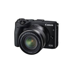 Canon EOS M3 + 18-55mm STM černý + Doprava zdarma