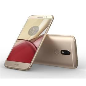 Lenovo Moto M Dual SIM (PA5D0077CZ) zlatý SIM s kreditem T-Mobile 200Kč Twist Online Internet (zdarma)Software F-Secure SAFE 6 měsíců pro 3 zařízení (zdarma) + Doprava zdarma