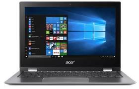 Acer Spin 1 (SP111-32N-C2RB) + stylus (NX.GRMEC.001) sivý