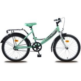 """Olpran 2016 Teddy 20"""" s bezpečnostními prvky zelené + Reflexní sada 2 SportTeam (pásek, přívěsek, samolepky) - zelené v hodnotě 58 Kč + Doprava zdarma"""