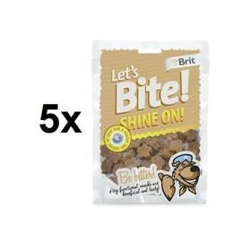 Brit Lets Bite Shine On! 5 x 150 g