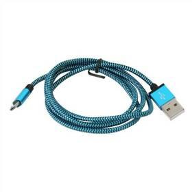 PLATINET USB/micro USB, 1m (PUCFB1-BE) modrý