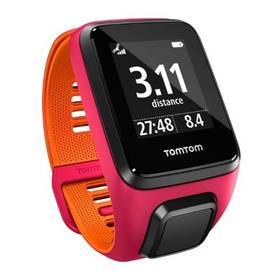 Tomtom Runner 3 (S) (1RL0.001.02) růžové/oranžové + Doprava zdarma