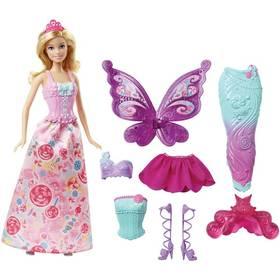 Mattel víla a pohádkové oblečky + Doprava zdarma