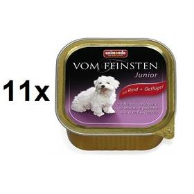 Animonda Vom Feinsten Junior hovězí + drůbeží 11 x 150g