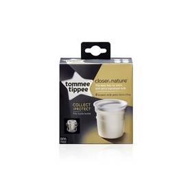 Nádobky na skladování mateřského mléka Tommee Tippee C2N, 4ks 0+m