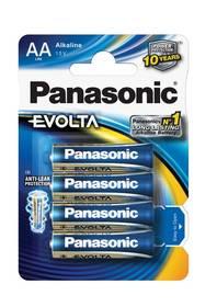 Panasonic AA, LR6, Evolta, blistr 4ks