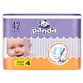 Panda Maxi 42 ks Ubrousky čistící Panda 64 ks (zdarma)