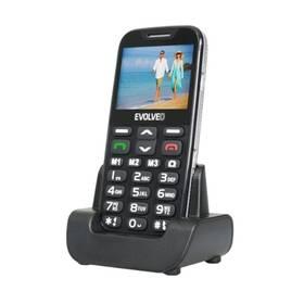 Evolveo EVOLVEO EasyPhone XD pro seniory (EP-600-XDB) černý + Doprava zdarma