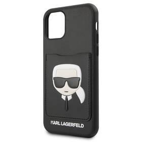 Karl Lagerfeld CardSlot pro Apple iPhone 11 (KLHCN61CSKCBK) čierny