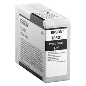 Epson T8501, 80 ml, foto černá (C13T850100)