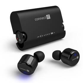 Connect IT True Wireless HYPER-BASS Bluetooth (CEP-9000-BK) černé (vrácené zboží 8800130762)
