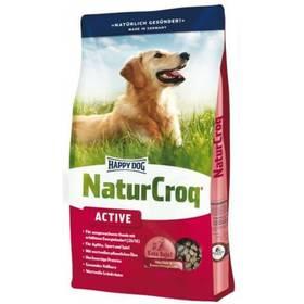 HAPPY DOG Natur- Croq ADULT Active 15 kg Konzerva HAPPY DOG Rind Pur - 100% hovězí maso 400 g (zdarma) + Antiparazitní obojek za zvýhodněnou cenu + Doprava zdarma