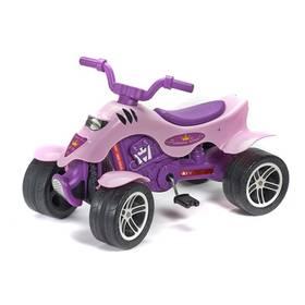 Šlapací čtyřkolka FALK Princes - růžová/plast + Doprava zdarma