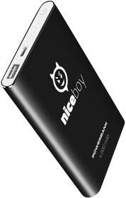 Niceboy 4000 mAh (power-4k) černá