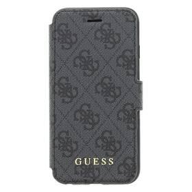 Guess Charms Book Case 4G na Apple iPhone 7/8 (GUFLBKI84GG) sivé