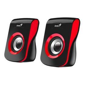 Genius SP-Q180 (31730026401) černé/červené (vrácené zboží 8801082198)
