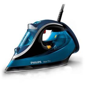 Philips Azur Pro GC4881/20 modrá Žehlicí prkno Vileda Viva Express Basic (zdarma) + Doprava zdarma