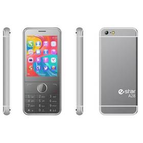 eStar A28 Dual SIM stříbrný