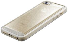 Kryt na mobil CellularLine SELFIE CASE pro Apple iPhone 5/5s/SE (SELFIECIPH5H) zlatý